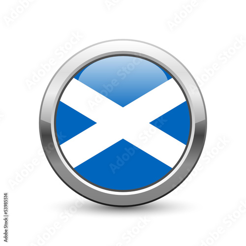 Scottish flag icon web button