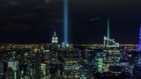 911 Lights in New York City