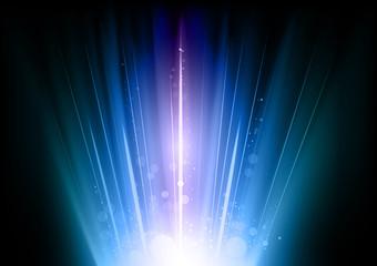 blue flares