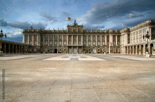 Madrid - Royal Palace, Spain
