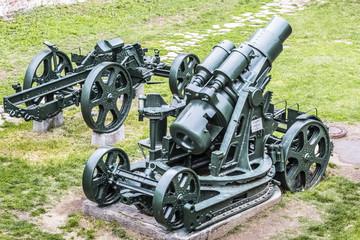 Austro Hungarian WWI Siege Howitzer 305 mm Mörser Model 1911 Wi