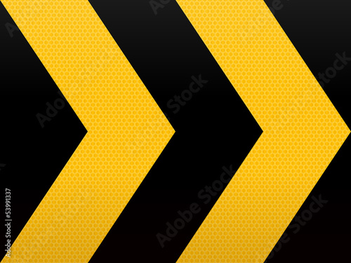 Seamless Yellow Black Arrow