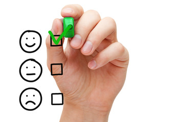 Excellent Customer Service Evaluation