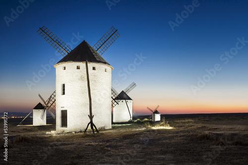 Moulins de Don Quichotte - Campo de criptana - Espagne