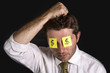 post it notes for eyes