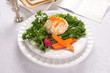Traditional Jewish passover  Gefilte Fish