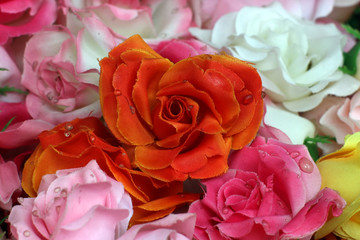 rose artificial flower