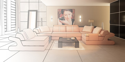 Luxury Loft (drawing)
