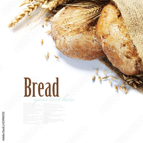 canvas print picture Freshly baked bread