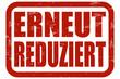 Grunge Stempel rot ERNEUT REDUZIERT