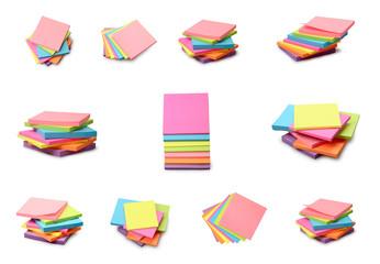 Multicolored stickers