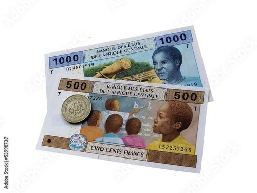 Деньги  банка стран центральной Африки