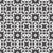 Black and white paper lace texture, seamless pattern