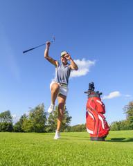 Freude beim Golf