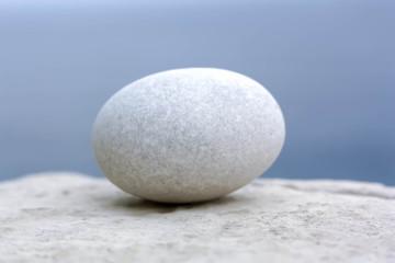 White Stone Egg
