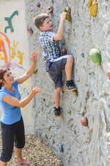 Freizeitspaß Boulderwand