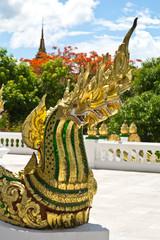Naga at the palace, the world heritage town of Laung Prabang