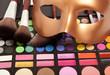 Makeup eye shadows and mask