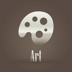 Metallic symbol Art