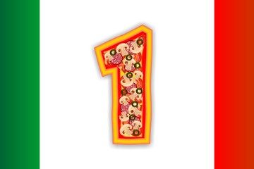PIZZA - NUMBER - 1