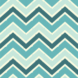 Seamless chevron pattern in sea colors