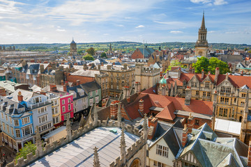 Oxford Skyline. England