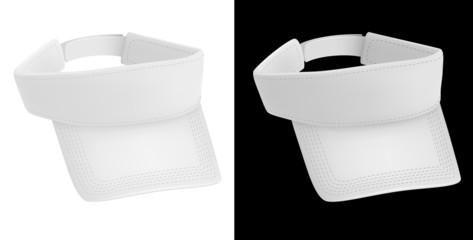 Promo blank visor template