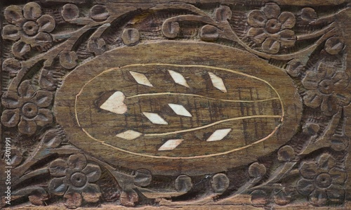 crafted wood background