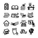 Icons set library