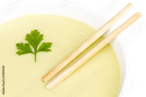 Soup-of-courgette