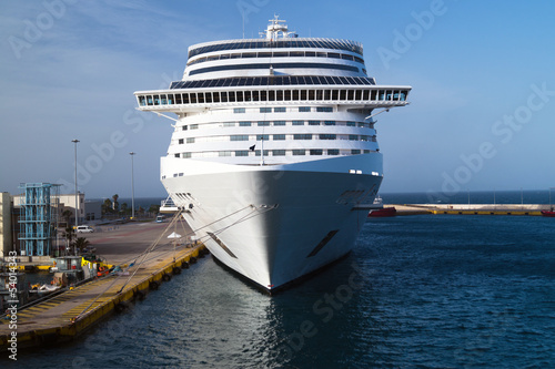 Cruise ship at Piraeus port, Greece