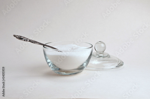 Spoon and surgar bowl