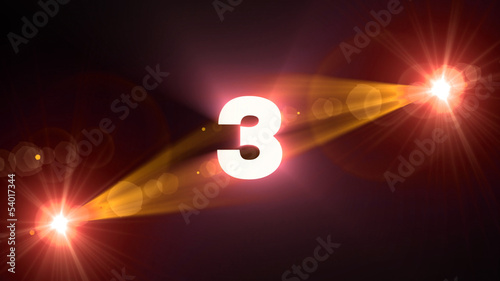 orange flare 3 background