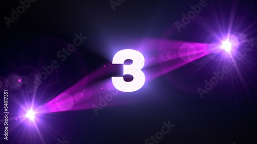 purple flare 3 background