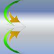 Logo Pfeile abstrakt