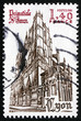 Postage stamp France 1981 Church of St. John the Baptist's, Lyon