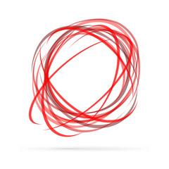 Abstract energy vector logo