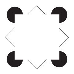 Kanizsa Quadrat