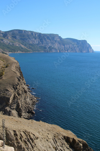 Crimean mountains near Balaklava, Sevastopol