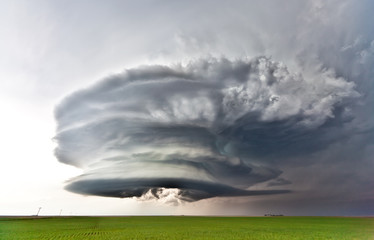 Severe thunderstorm near Julesburg, Colorado