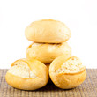 Bread on a white background. delicious buns  isolated on white
