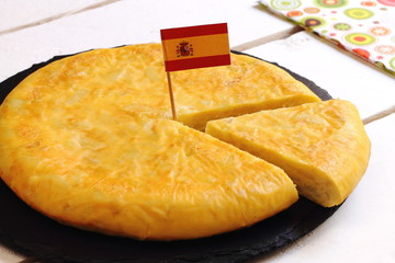 Spanish omelet with potato
