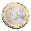 Ein Euro Münze