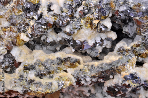 Calcite, Galena, sphalerite power of nature