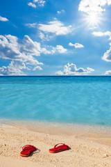 Strand, Sand, Flipflops