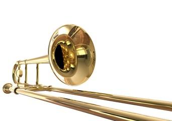 Trombone Closeup