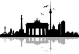 Berlin Skyline Schatten