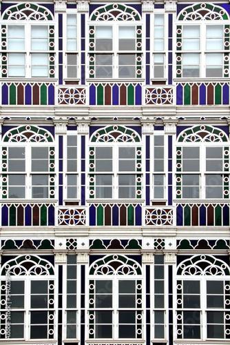 Galeriehhaus in La Coruna