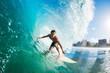 Leinwandbild Motiv Surfer