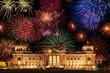 Berlin, Feuerwerk, Composing